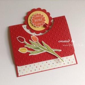 Gutscheinkarte Blume Cover