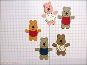 Teddybären Eulenstanze