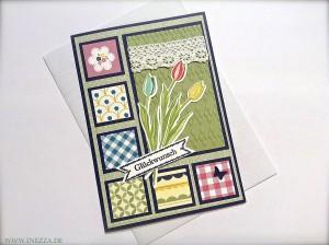 Geburtstagskarte Gartenparty