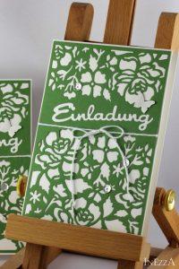 Einladungskarte Florale Fantasie